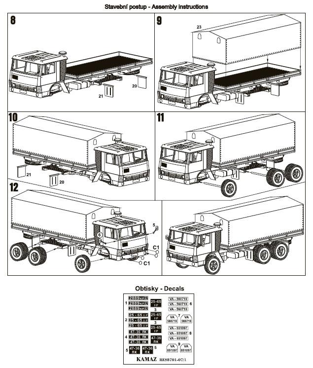 Kamaz 5320 Long Cab