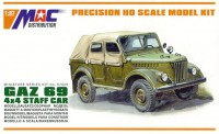 GAZ-69 4x4 Staff Car