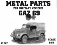 GAZ 69 Amplion (Metal Parts)