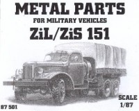 ZIL/ZIS 151 (Metal Parts)