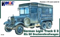 German Light Truck G3 Kfz 62 Druckereikraftwagen