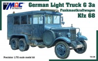 German Light Truck G 3 Funkmastkraftwagen Kfz 68